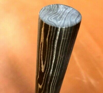 100mm Quality Damascus Steel Round Bar-Rod-Jewllery-Pen-Buckle Making