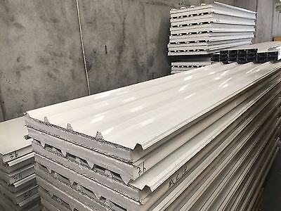 75mm Insulated Roofing Panel 75mm  $35 Per Meter