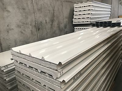 Insulated T-Deck EPS Roofing Panel 75mm  $33 Per Meter