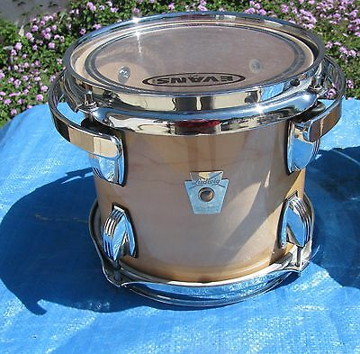 """2010 Ludwig 8"""" & 10"""" Classic Maple Tom - HARD TO FIND SIZES IN EXCELLENT SHAPE"""
