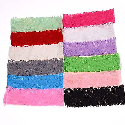 Kids Toddler  10PCS  Headwear Hair Band Accessories Girl Baby  Lace Flower