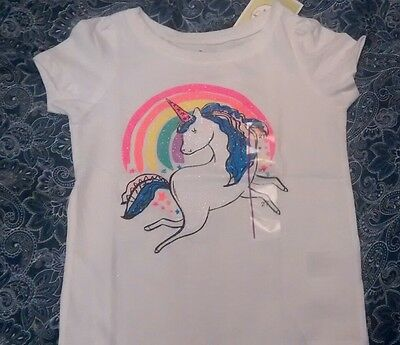 Circo Unicorn T-shirt 2T girls cotton blend short sleeve summer spring