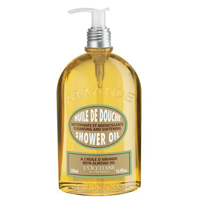 NEW L'Occitane Almond Shower Oil 500ml