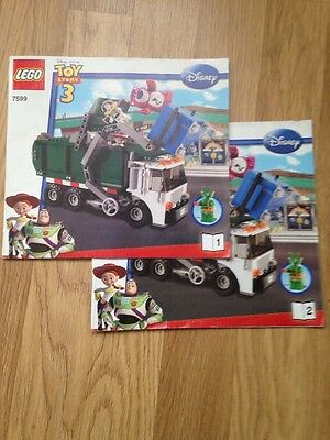LEGO Toy Story Manuals Only For Set 7599