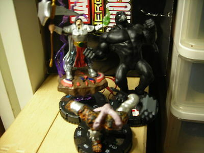 Heroclix Marvel FEAR ITSELF Set Completo + 2 promo Nul Nero e The serpent