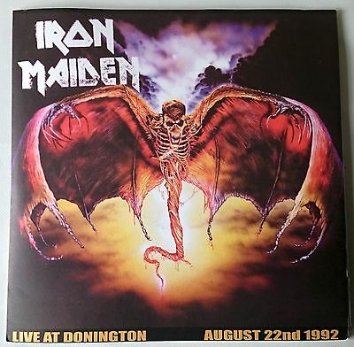 Iron Maiden - Live At Donington - Triple Lp Coloured Vinyl - Limited To 500