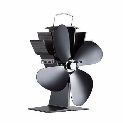 No Battery Required Silent Operate Heat Powered Stove Fan Eco Fan Stove Top Fan