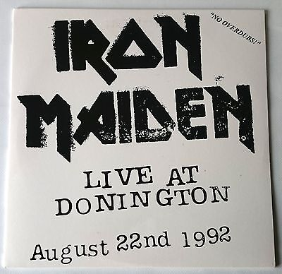 Iron Maiden - Donington 92 - Triple Vinyl Live Lp - Coloured - Very Rare Limited