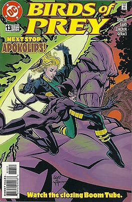 Birds of Prey #13 DC Comic JAN 2000 Volume 1 Black Canary Catwoman comics book