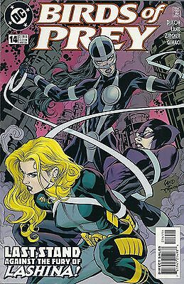 Birds of Prey #14 DC Comic FEB 2000 Volume 1 Black Canary Catwoman comics book