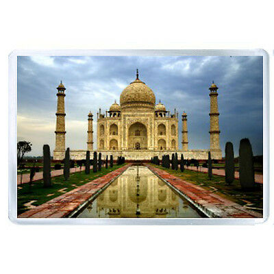 AU FRIDGE  MAGNET india city agra taj mahal 59156