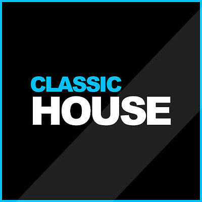 CLASSIC HOUSE Mp3 30Gb 8 DVD DJ COLLECTION ID3 TAGGED UNMIXED