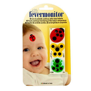 indicateur frontal de température fevermonitor 48h