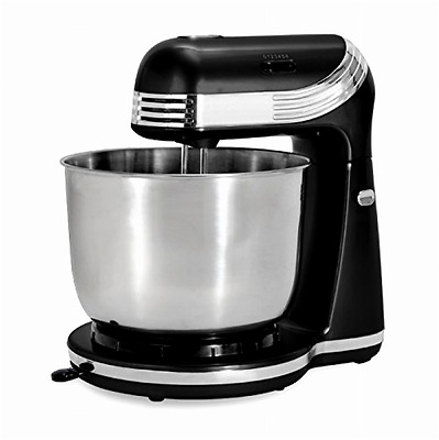 Classic Stand Mixer 6 Speed Kitchen Dough Bread Cake Cooking Black NEW