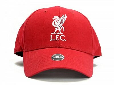 Liverpool LFC Football Baseball Cap Hat Red Embroidered Crest Badge Official
