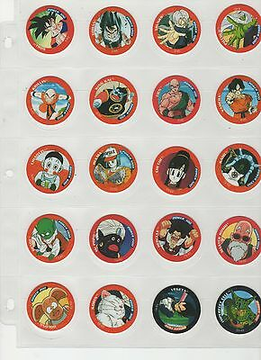 Dragonball Z DBZ Tazo commom set complete all 40
