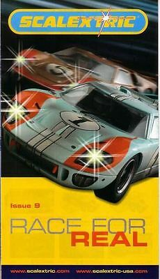 "Scalextric ""Race For Real"" Leaflet - Issue 09"