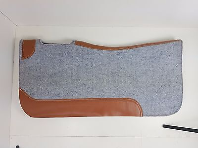 Grey Felt Stock Saddle Western Stock Saddle Fleece Pad Blanket Pad