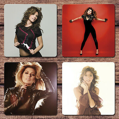 Shania Twain Coaster Set NEW From This Moment On You're Still the One Up
