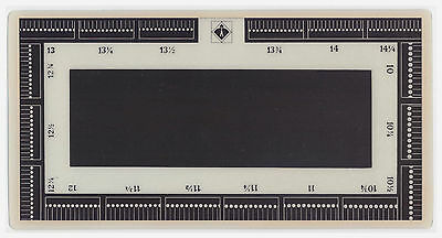 Stamp Perforation Gauge Lighthouse New