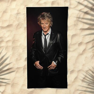 Rod Stewart Beach Towel NEW Another Country Love Is Have I Told You Lately