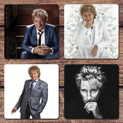 Rod Stewart Coaster Set NEW I Don't Want to Talk About It Sailing Maggie Mae