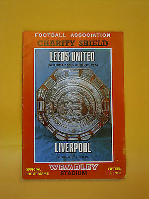 FA Charity Shield - Leeds United v Liverpool - 10th August 1974