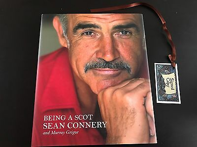 Being A Scot Sean Connery Hardback Book Signed Autograph Biography First Edition