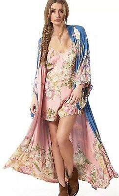 Spell And The Gypsy Collective Blue Skies Reversible Kimono. OS. NWT