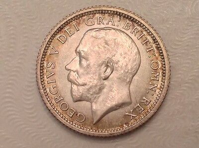 - 1926 Great Britain Sixpence 6 Pence George V - Choice  uncirculated