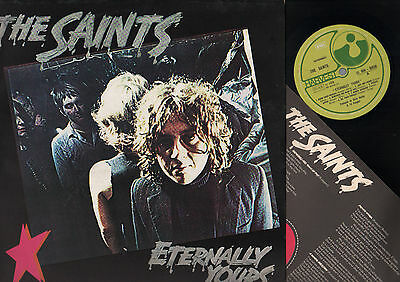 Lp The Saints Eternally Yours Harvest Made In Italy 1978 Punk Rock + Inner Sleev