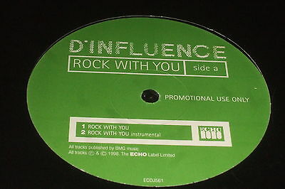 D'Influence – Rock With You     1998    NEAR MINT!!!