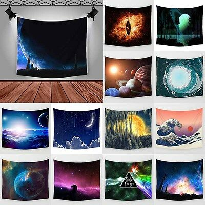 Starry Polyester Tablecloth Hanging Tapestry Wall Sticker Bedspread Home Decor