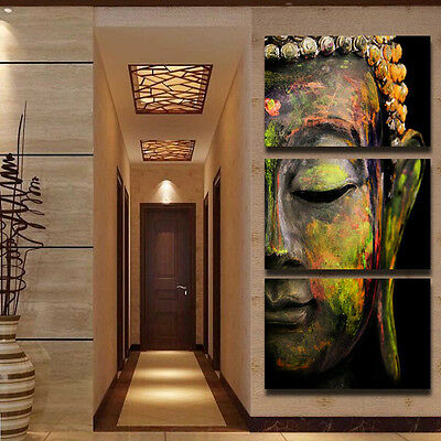 Buddha Unframed Oil Painting Wall Hanging Art Picture Canvas Paint Home Decor