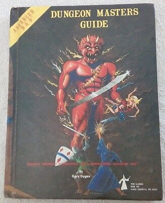 Dungeon Masters Guide Advanced D&D 1979 Gary Gygax