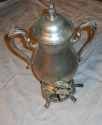 Reed & Barton Sheffield Collection S 2358 Silverplated Coffee or Tea Urn