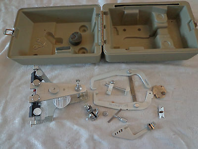 whipmix articulator with facebow and locking case