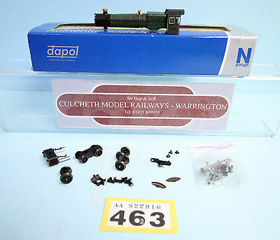 Dapol 'n' Gauge *spare Parts* Cranmore Hall Body & Parts Only Boxed #463