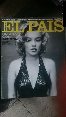 3 REVISTAS 3 rare magazines mags MARILYN MONROE Avedon 1957 special Hollywood