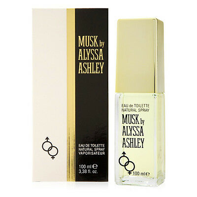 Profumo Alyssa Ashley Musk Eau De Toilette Spray 100 ML