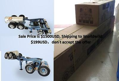 RC Multi-functional transformers Heavy Drake Trailers For  1/14 Tamiya Tractor