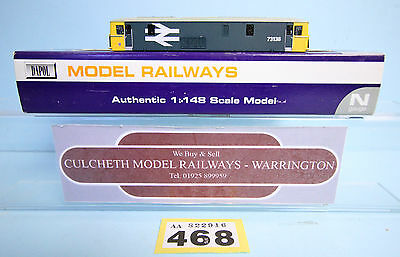Dapol 'n' Gauge *spare Parts* Class 73 138 Br Blue Body Only Boxed #468
