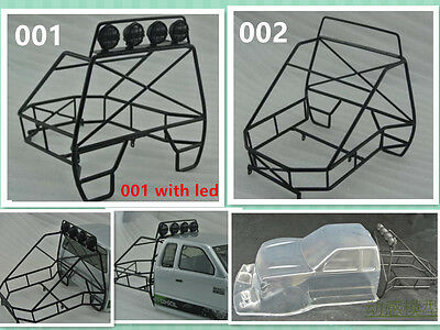 1/10 RC Metal Roll Cage Bucket for Axial SCX10 Rock Cralwer RC4WD TF2 AX80046