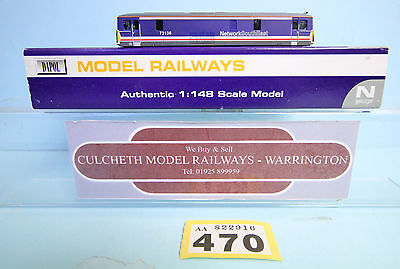 Dapol 'n' Gauge *spare Parts* Class 73 136 Nse Livery Body Only Boxed #470