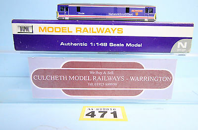 Dapol 'n' Gauge *spare Parts* Class 73 129 Nse Livery Body Only Boxed #471