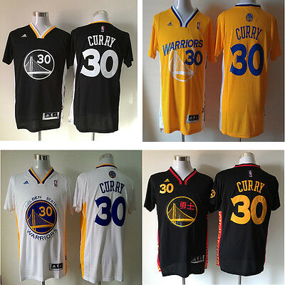 NWT Stephen Curry #30 Golden State Warriors Alternate Swingman Stitched Jersey