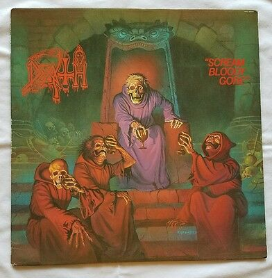 "Original Extremely RaRe 1987 DEATH ""Scream Bloody Gore"" LP"