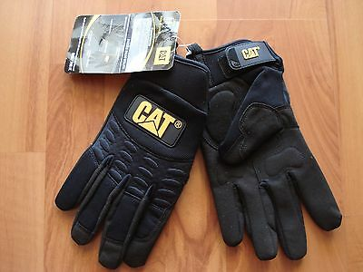 **NEW** Caterpillar CAT Padded Palm Uitility Gloves CAT012211L - Size: Large