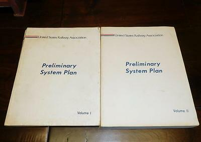 United States Railway Association Preliminary System Plan - Creation of Conrail