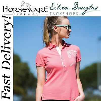 Horseware Ladies Flamboro Polo Shirts - 2 Colours - All Sizes - Clearance